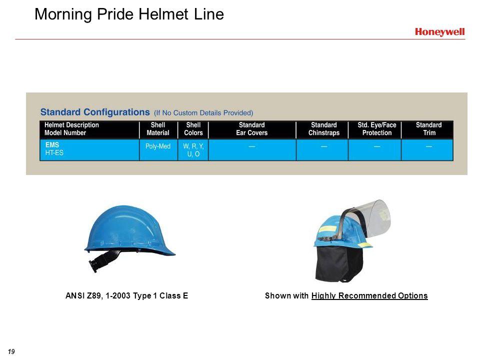 Morning Pride Helmet Line