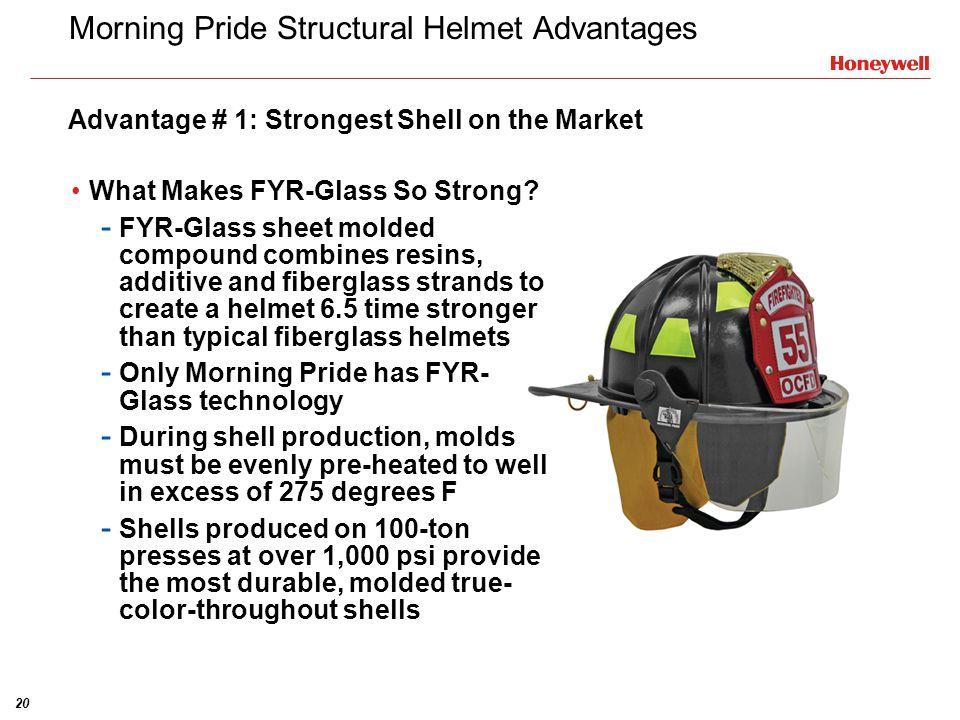 Morning Pride Structural Helmet Advantages