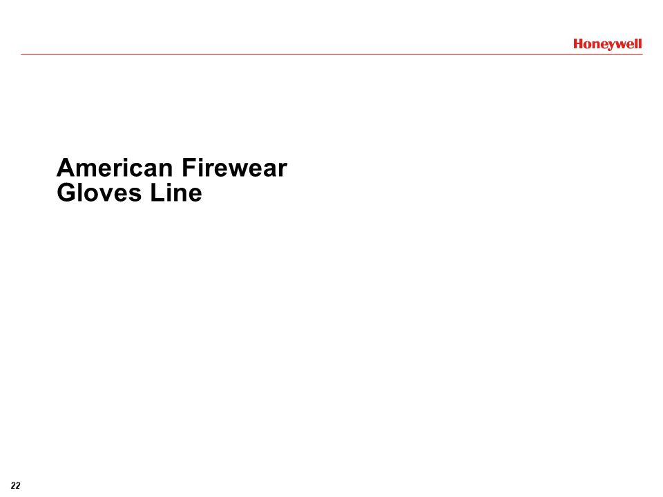 American Firewear Gloves Line