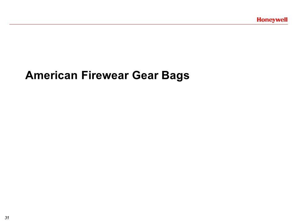 American Firewear Gear Bags