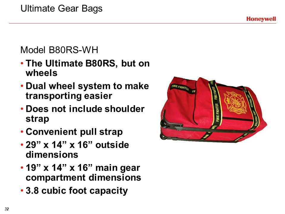 Ultimate Gear Bags Model B80RS-WH. The Ultimate B80RS, but on wheels. Dual wheel system to make transporting easier.