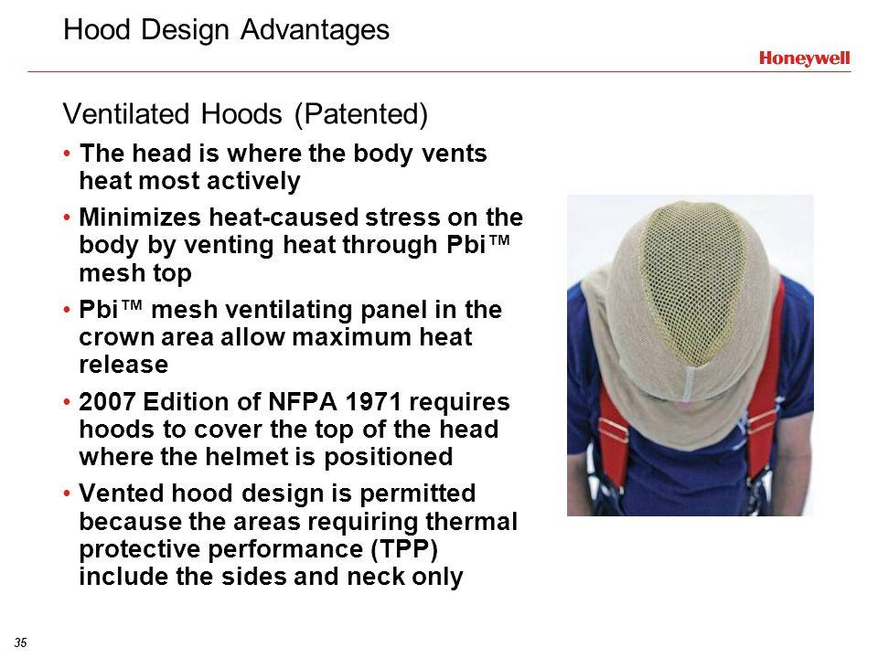 Hood Design Advantages