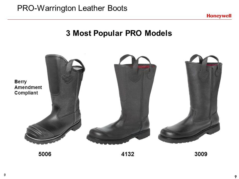 PRO-Warrington Leather Boots