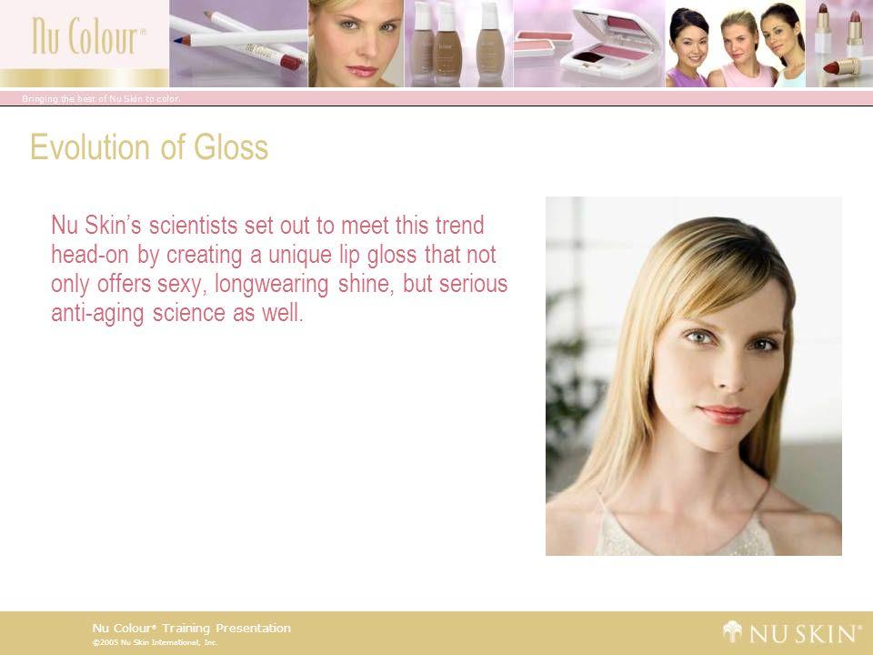 Evolution of Gloss