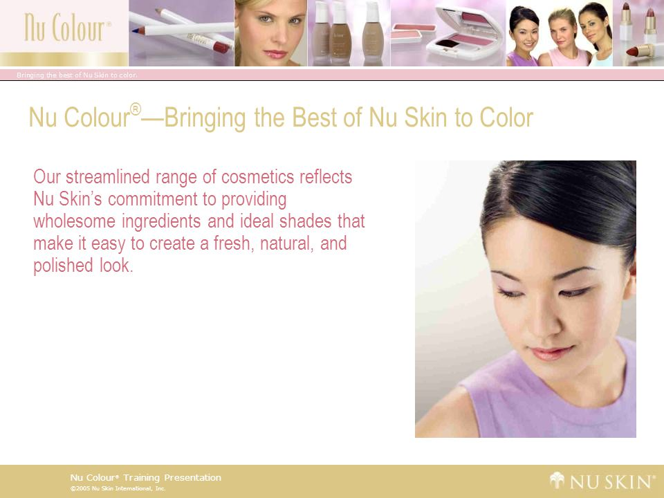 Nu Colour®—Bringing the Best of Nu Skin to Color