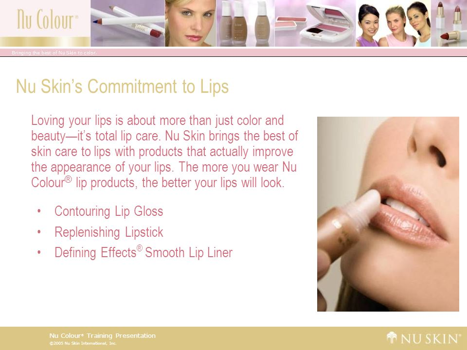 Nu Skin's Commitment to Lips