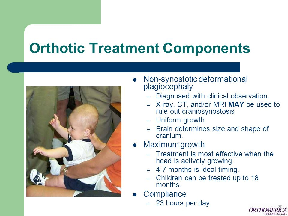 Orthotic Treatment Components