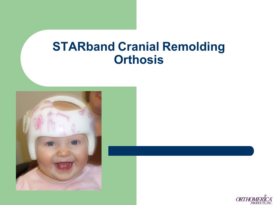 STARband Cranial Remolding Orthosis