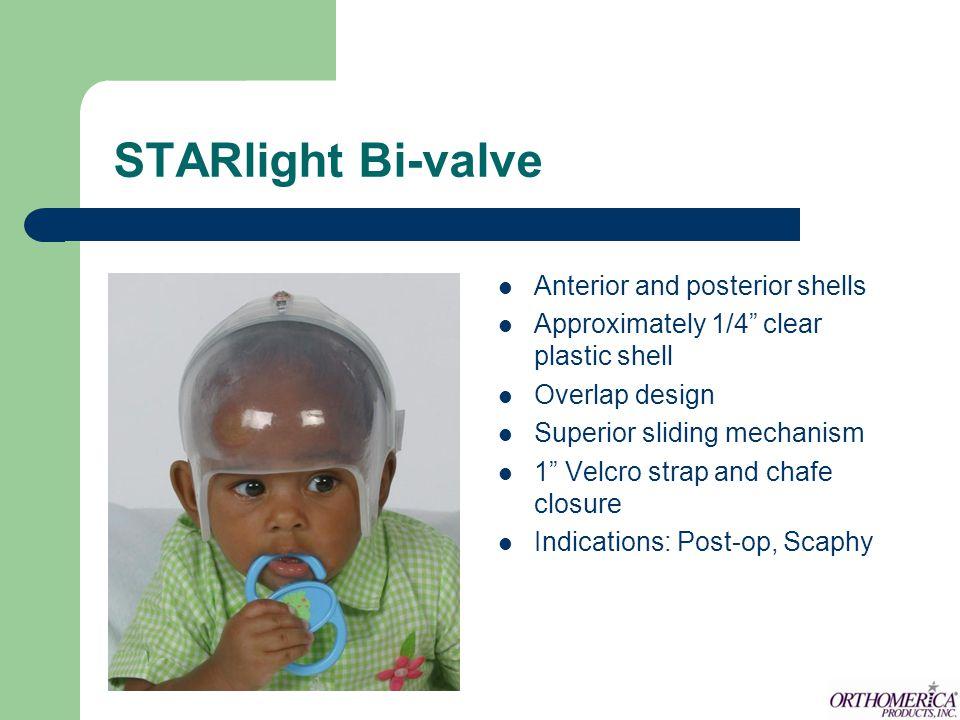 STARlight Bi-valve Anterior and posterior shells
