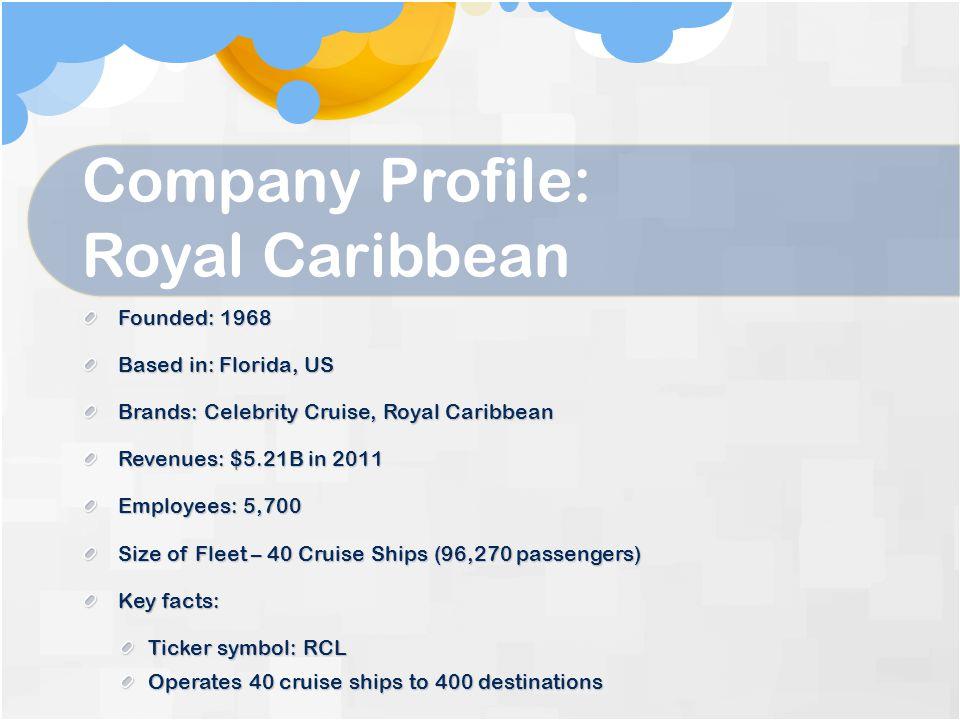 Company Profile: Royal Caribbean