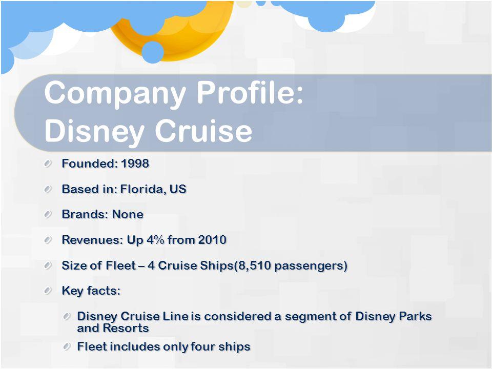 Company Profile: Disney Cruise