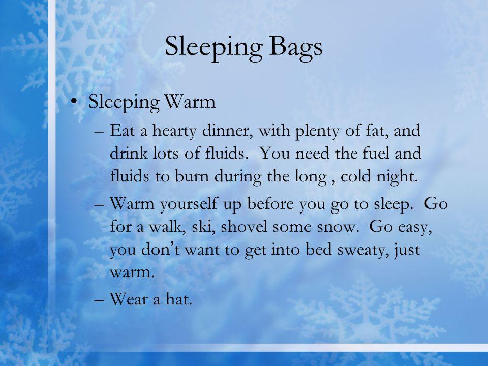 Sleeping Bags Sleeping Warm