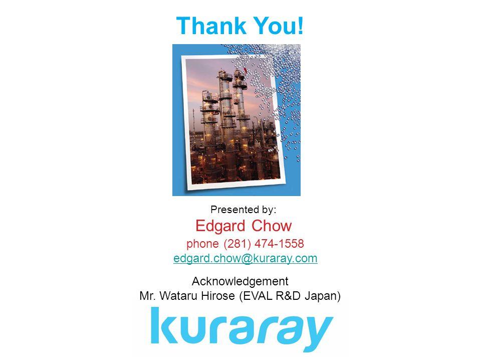 Mr. Wataru Hirose (EVAL R&D Japan)