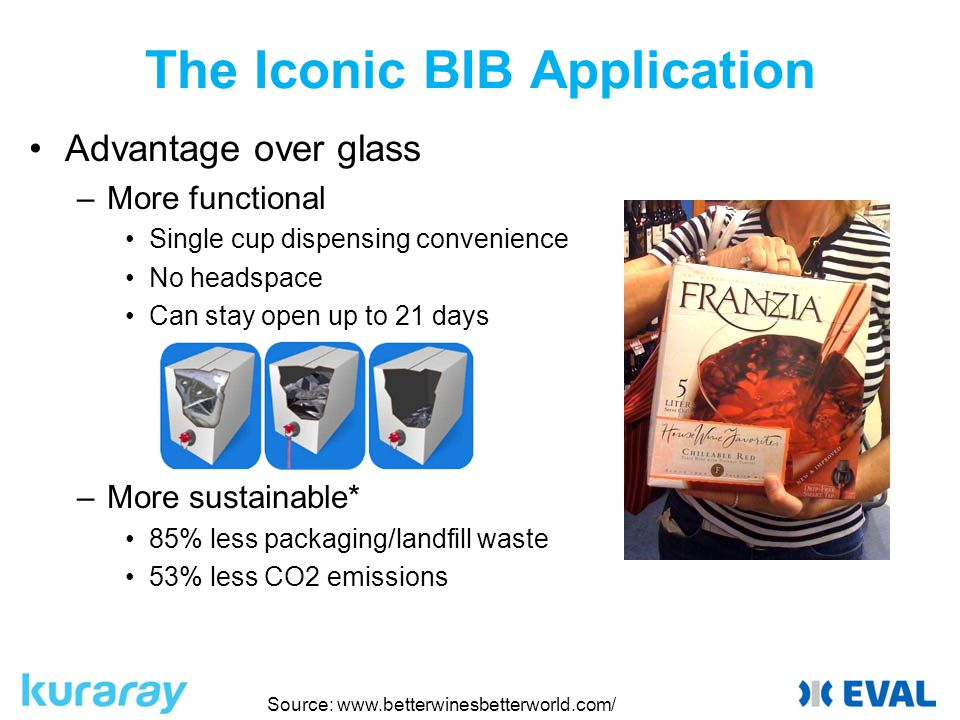 The Iconic BIB Application