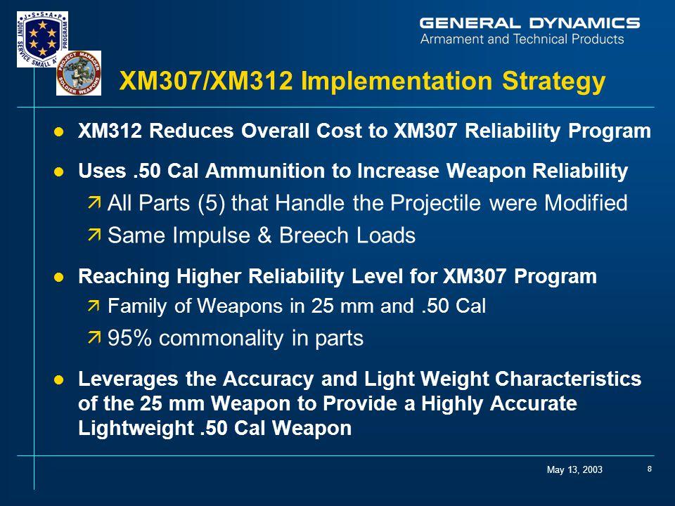 XM307/XM312 Implementation Strategy