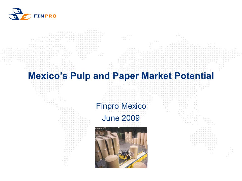 Mexico's Pulp and Paper Market Potential