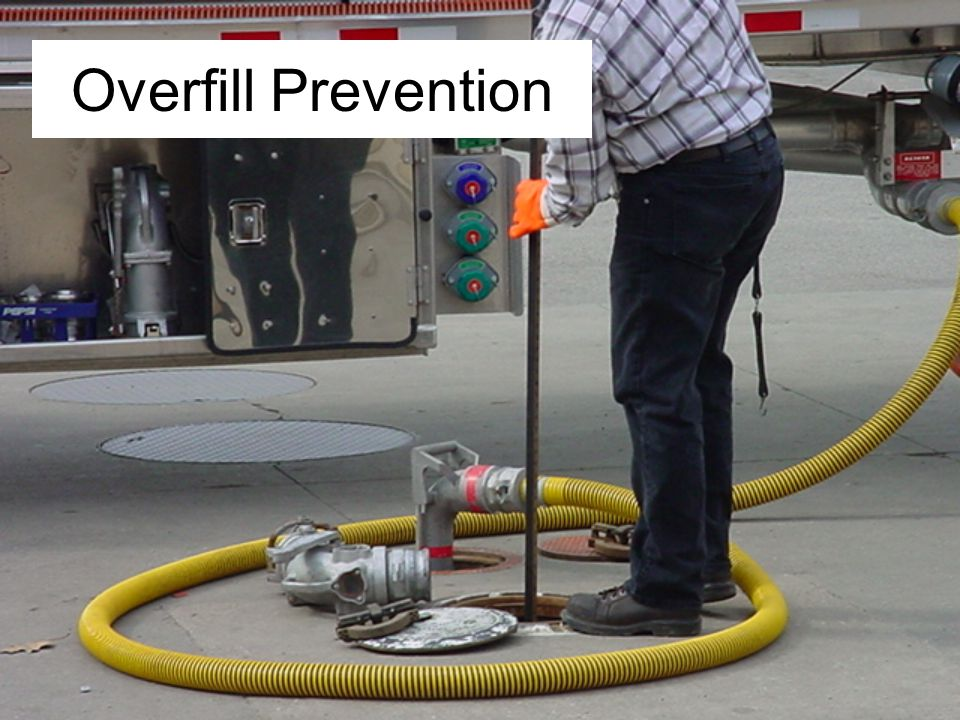 Overfill Prevention