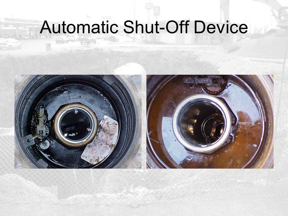 Automatic Shut-Off Device