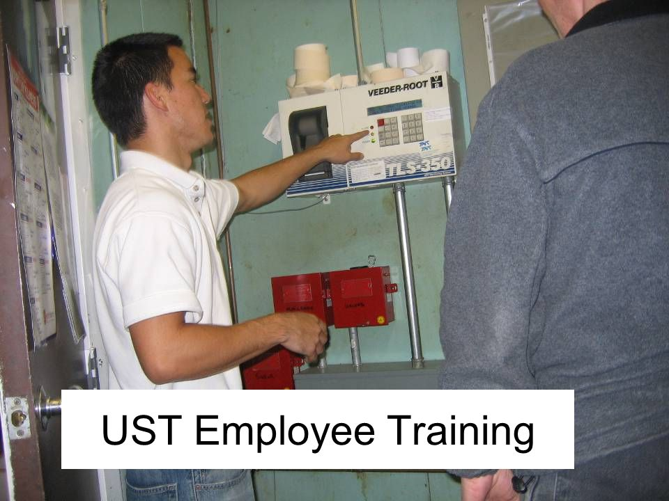 The next two slides provide an overview of UST employee training.