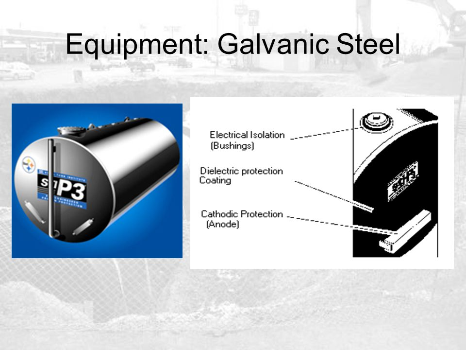 Equipment: Galvanic Steel