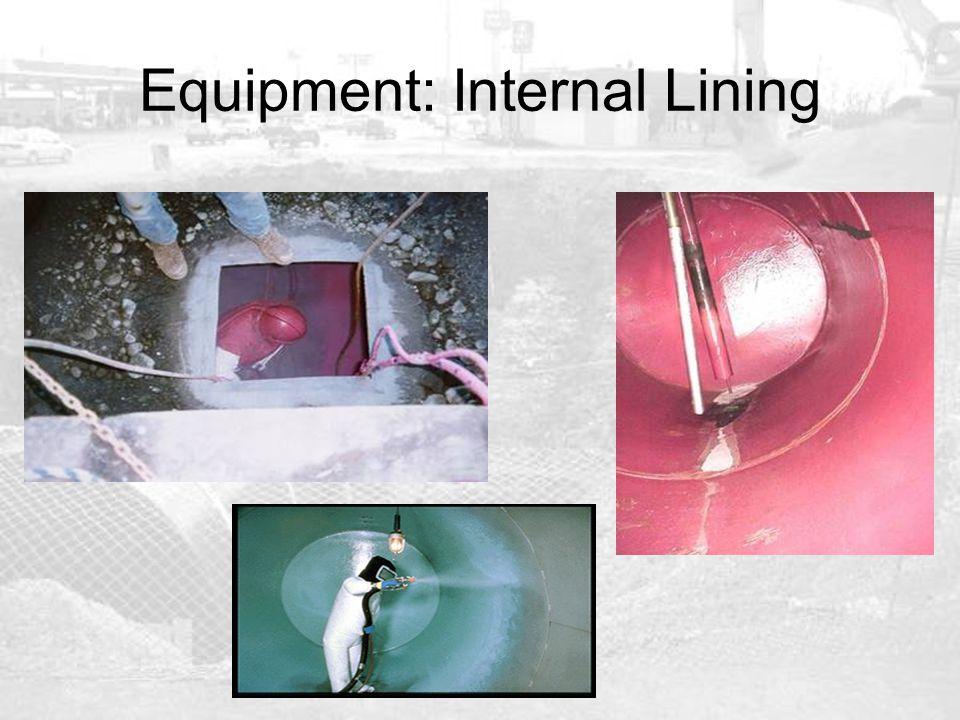 Equipment: Internal Lining