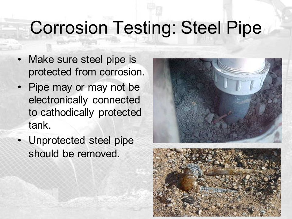 Corrosion Testing: Steel Pipe