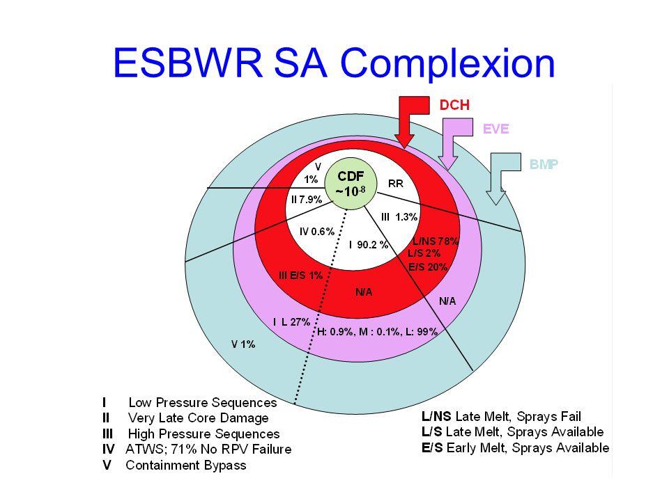 ESBWR SA Complexion