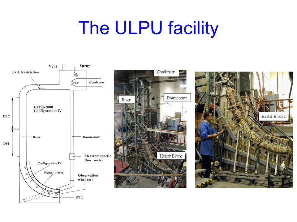 The ULPU facility