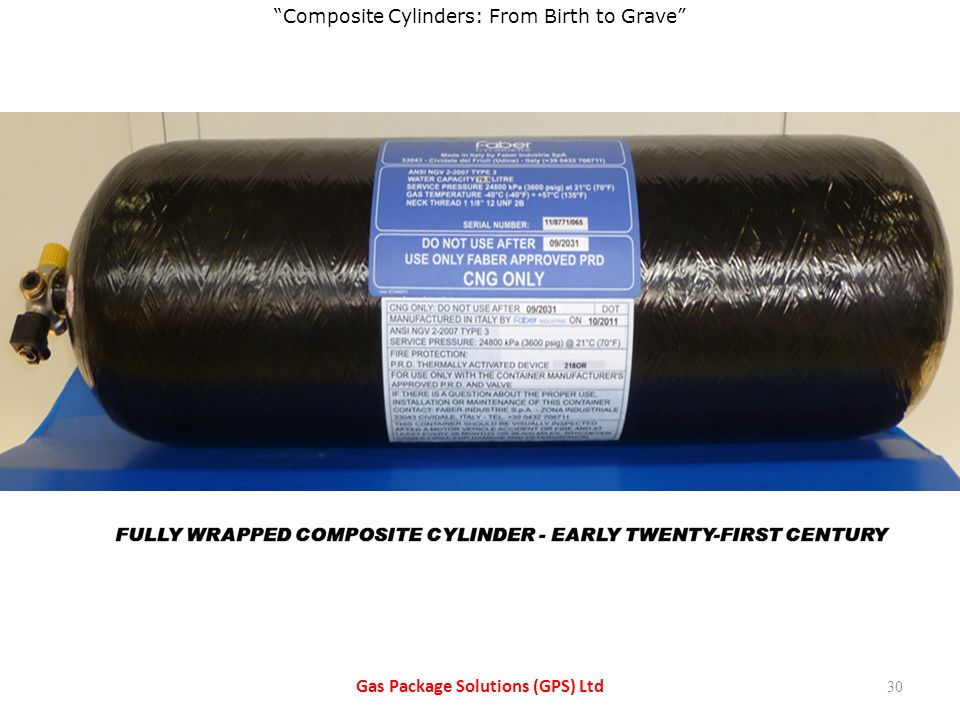 Composite Cylinders:From Birth to Grave