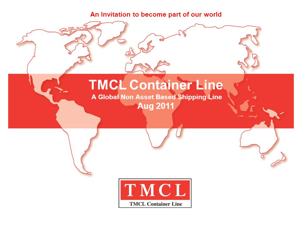A Global Non Asset Based Shipping Line