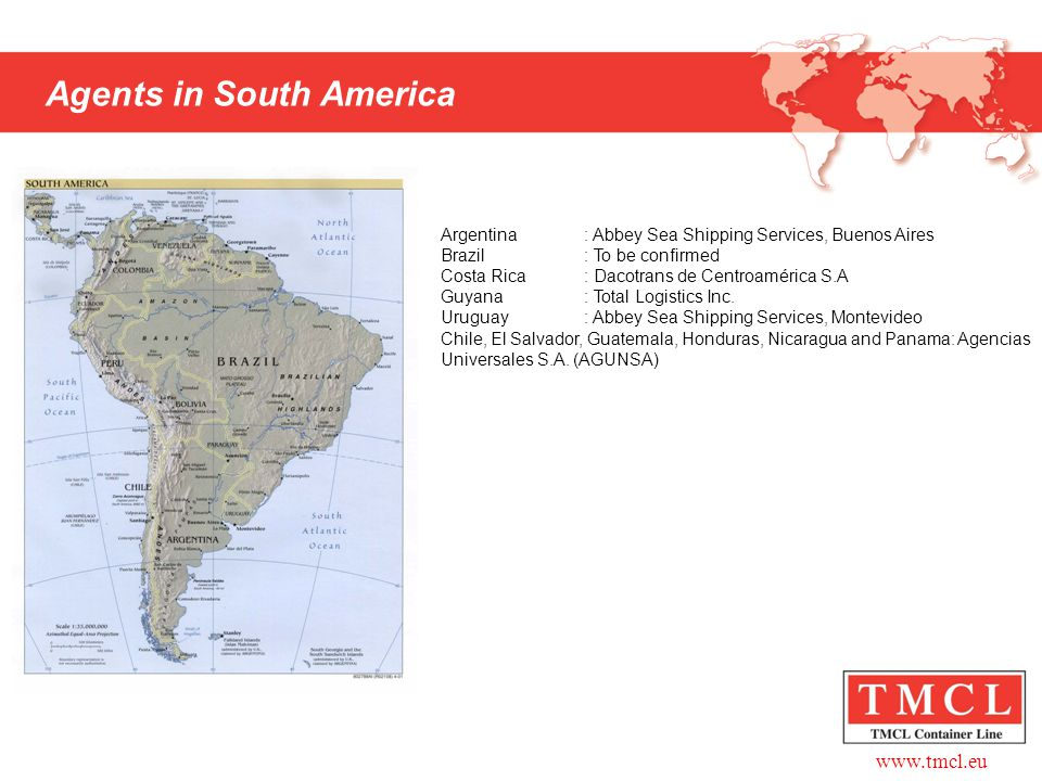 Agents in South America
