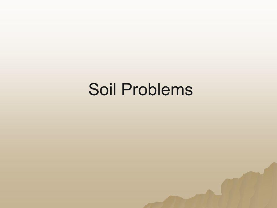 Soil Problems