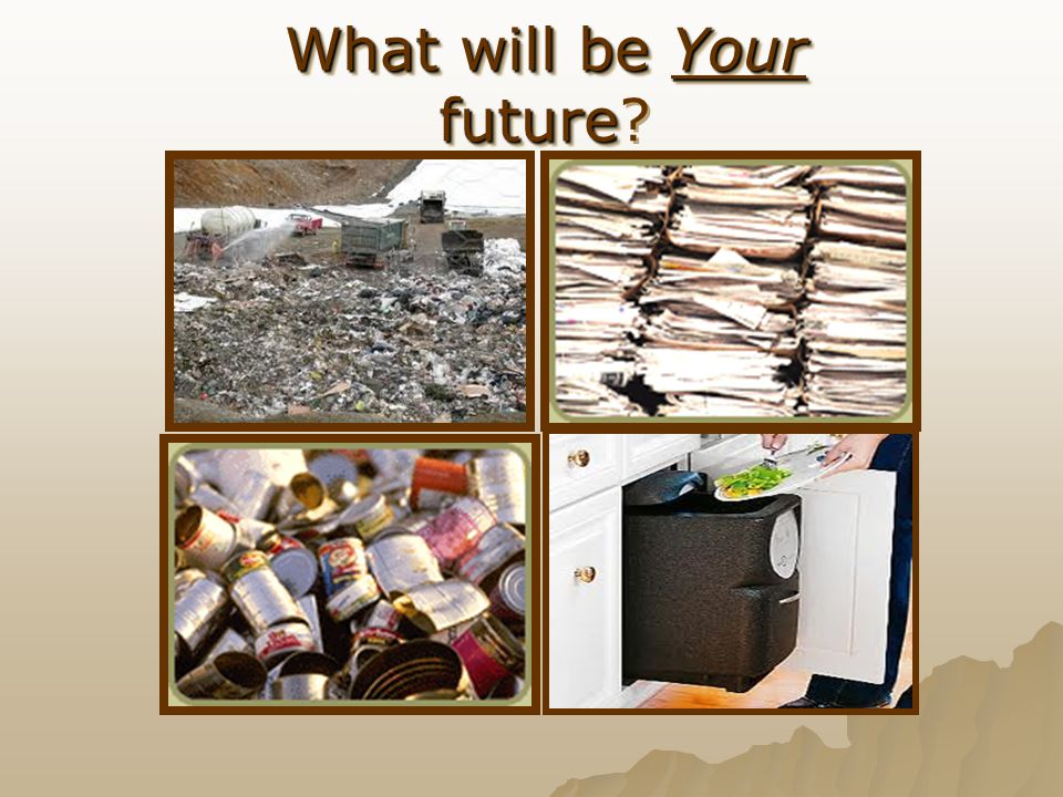 What will be Your future