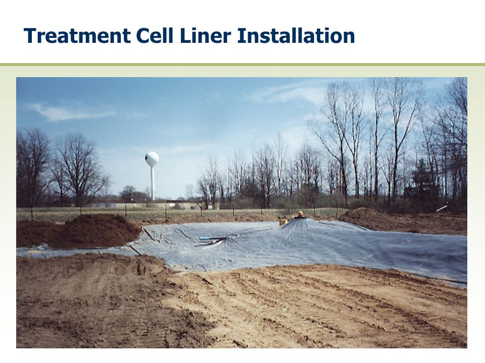 Treatment Cell Liner Installation