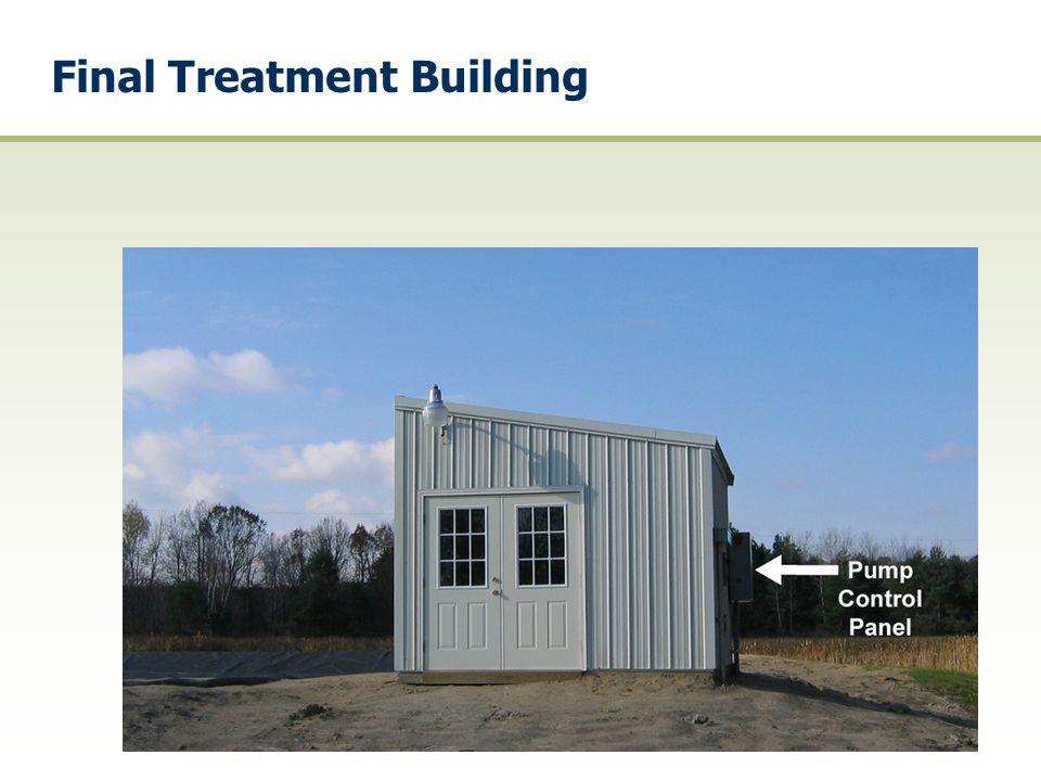 Final Treatment Building