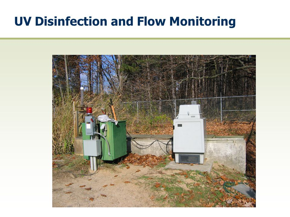 UV Disinfection and Flow Monitoring