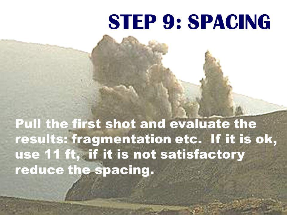 STEP 9: SPACING