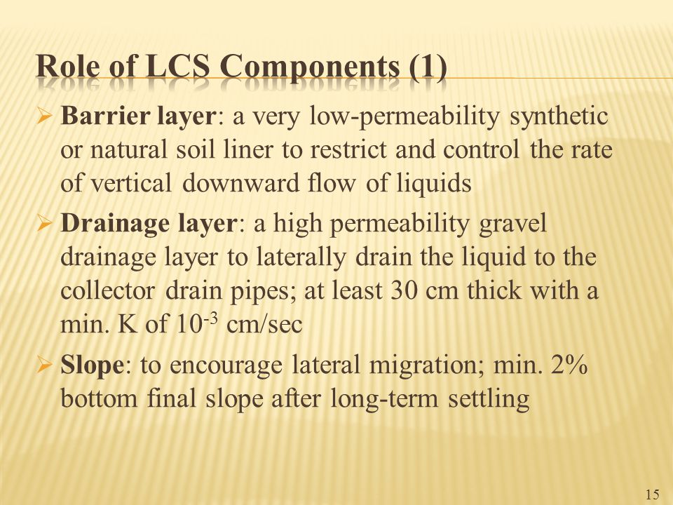 Role of LCS Components (1)