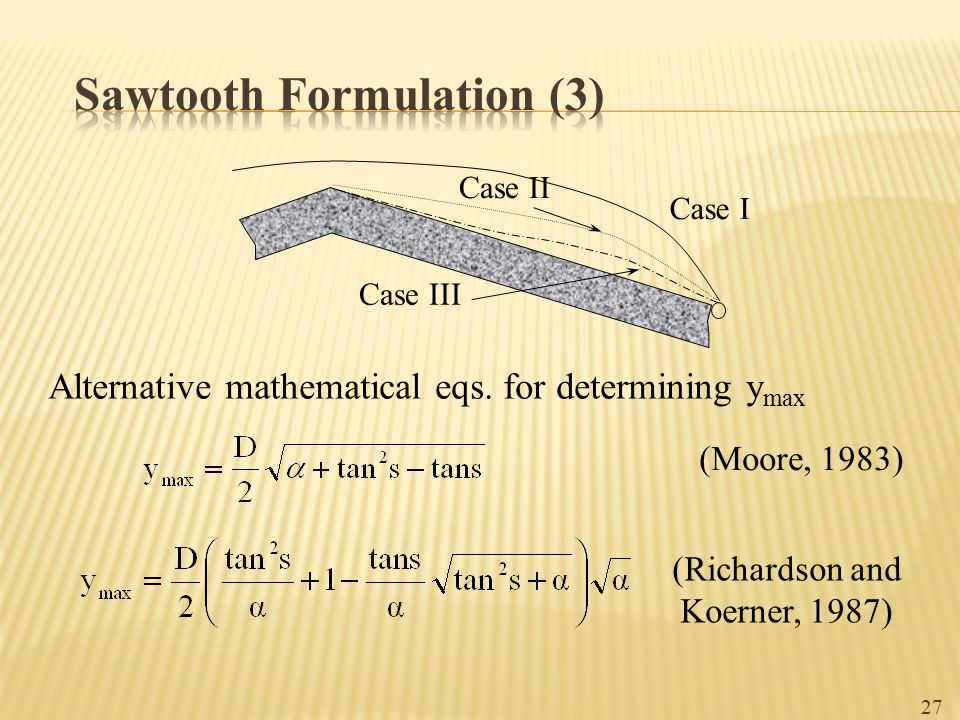 Sawtooth Formulation (3)