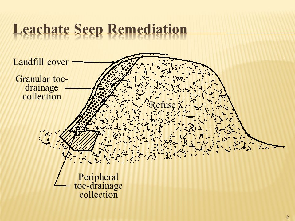 Leachate Seep Remediation