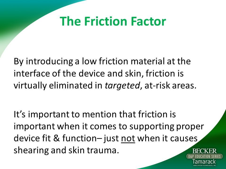 The Friction Factor