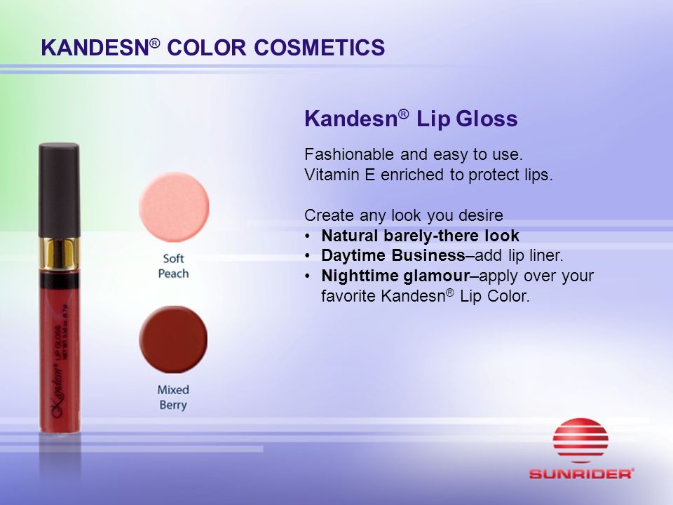 KANDESN® COLOR COSMETICS