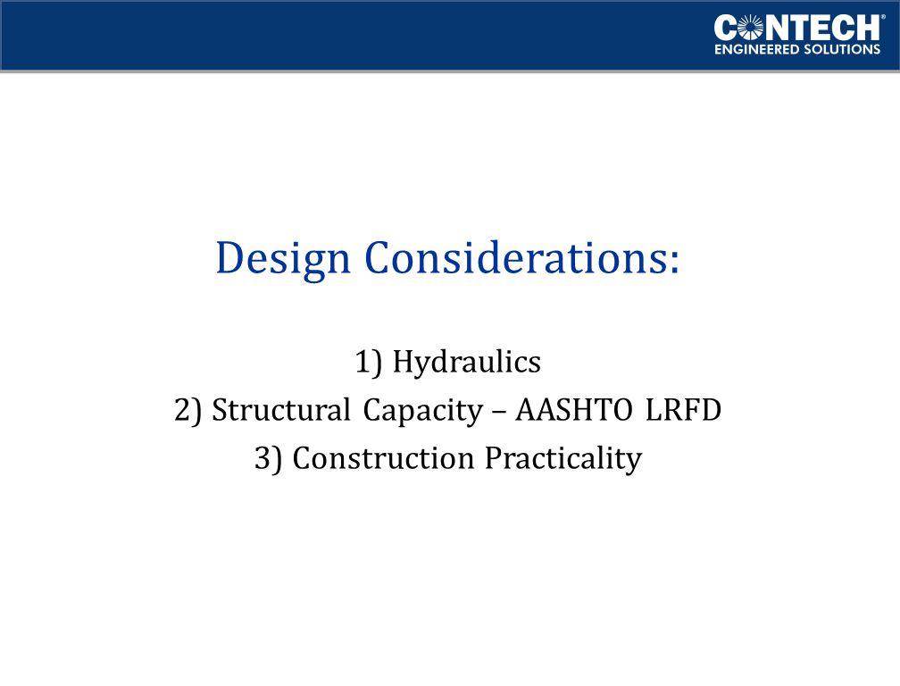 Design Considerations: