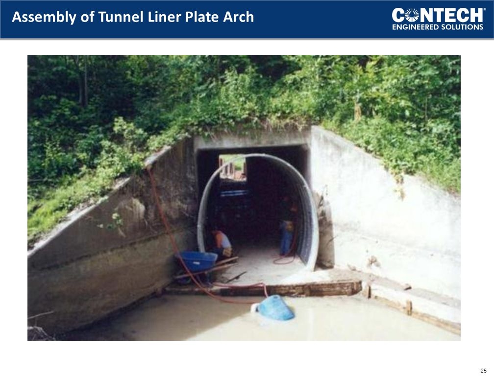 Assembly of Tunnel Liner Plate Arch