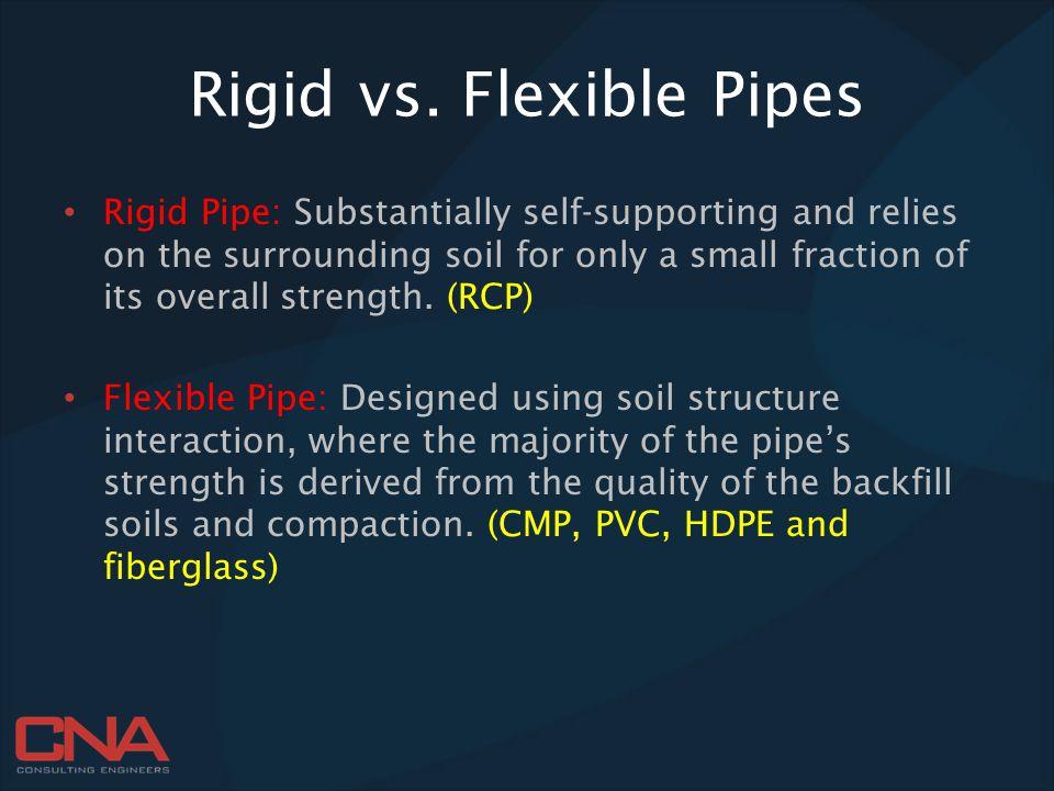 Rigid vs. Flexible Pipes