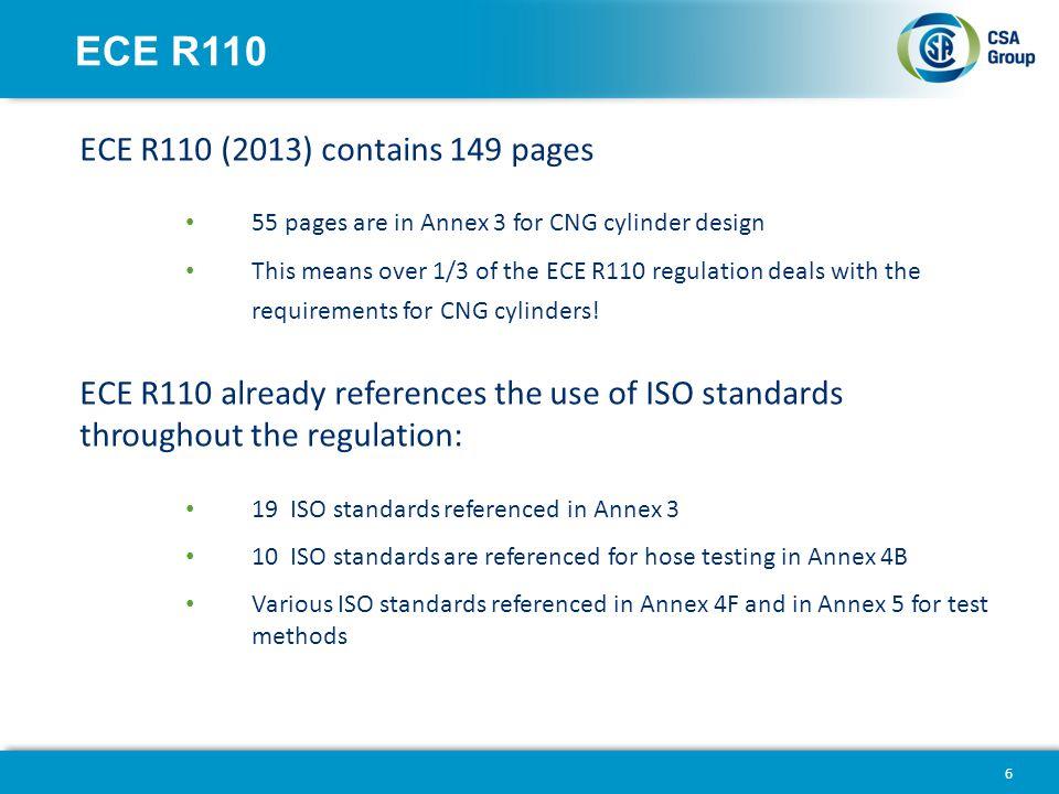 ECE R110 ECE R110 (2013) contains 149 pages