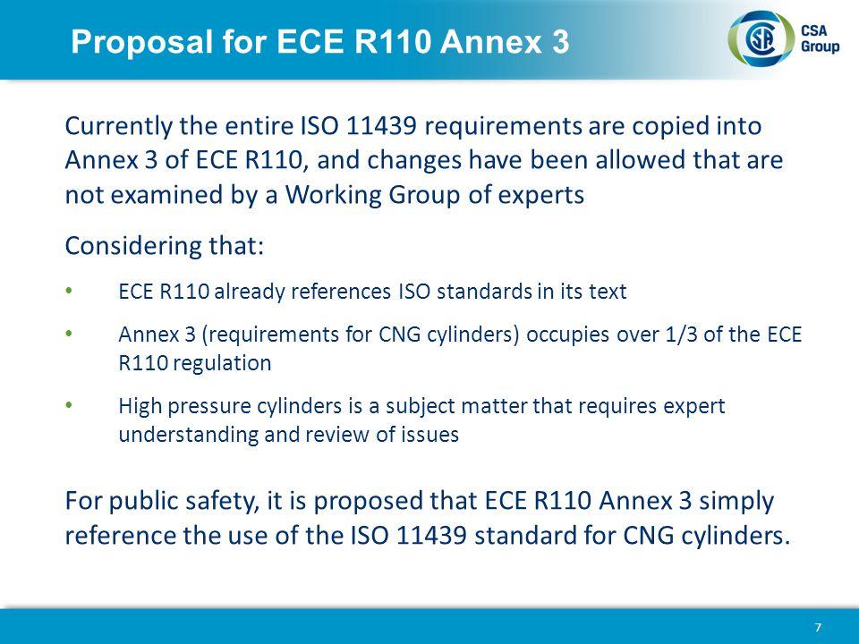 Proposal for ECE R110 Annex 3