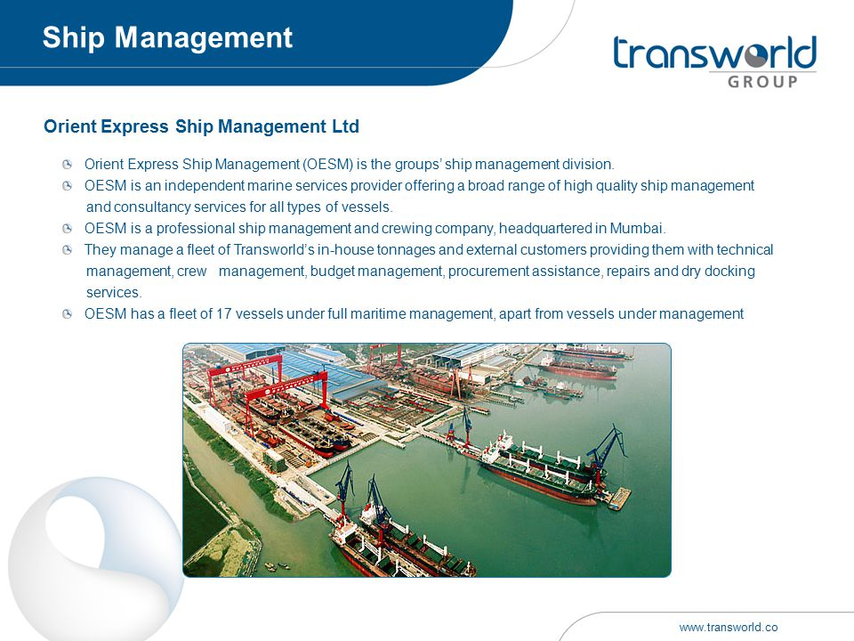 Orient Express Ship Management Ltd