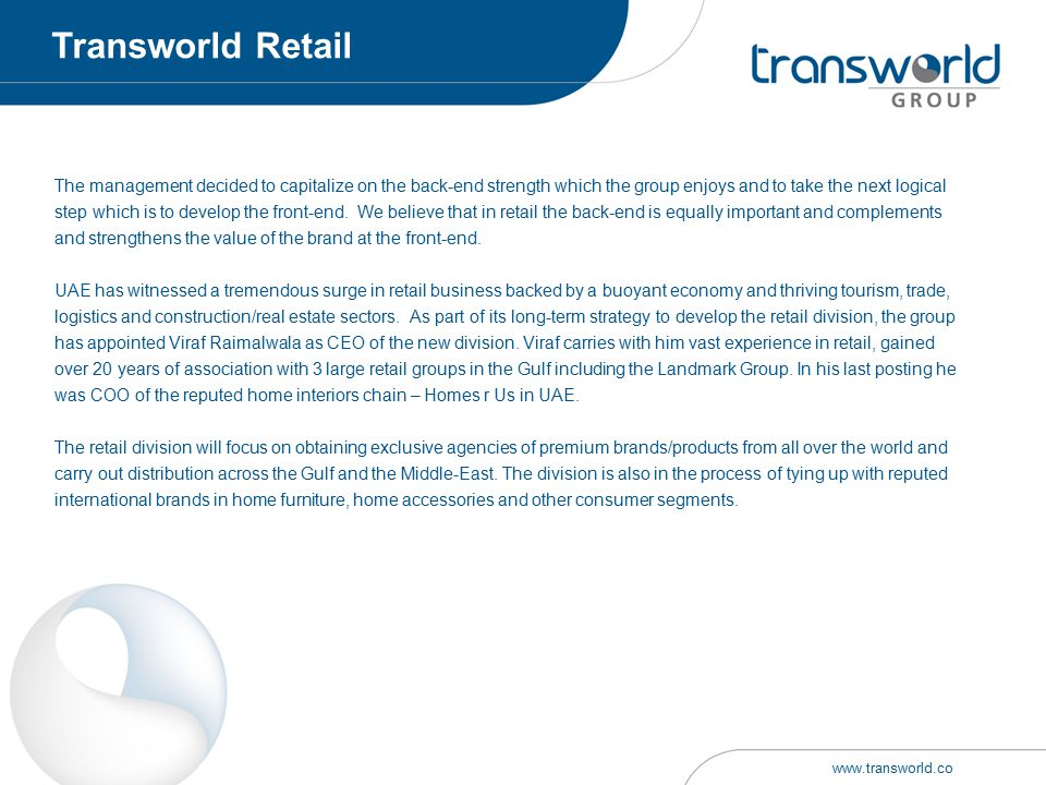 Transworld Retail