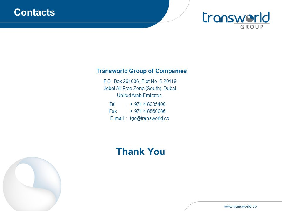 Transworld Group of Companies